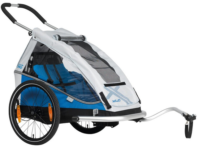 "XLC Mono 8teen BS-C08 Kindertrailer 20"", blue/silver"